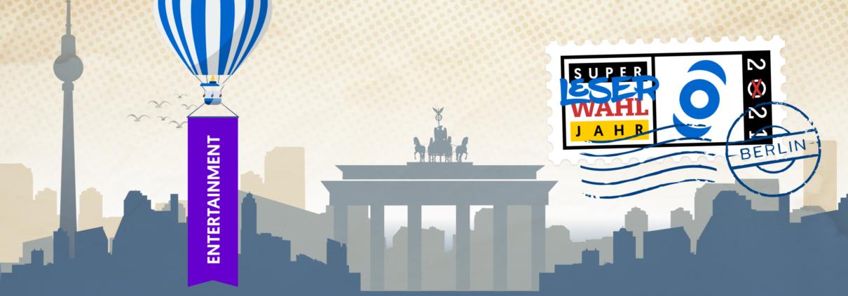 inside digital Leserwahl 1. Woche Entertainment