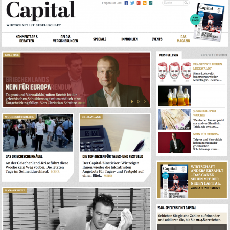 Capital Startseite