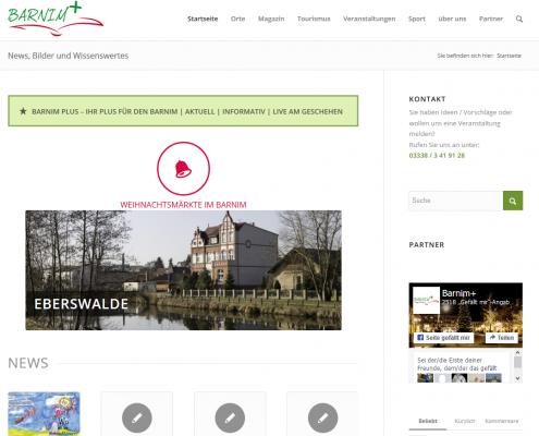 Startseite Barnim Plus